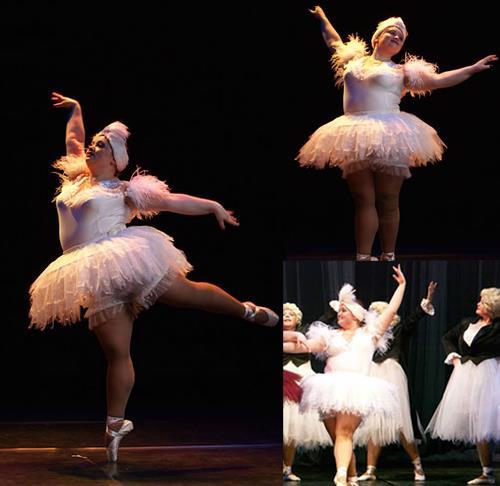 curvy ballett