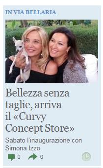 curvy concept store corriere di bologna